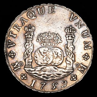 Spain - Fernando VI (1746 - 1759) - 8 reales tipo...