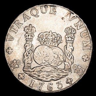 Spain - 8 reales - Carlos III (1759-1788) Mexico