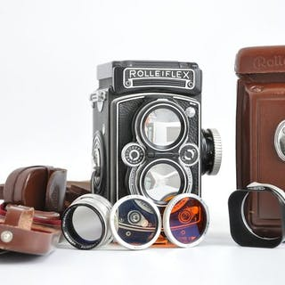 Rollei Rolleiflex 3,5C/3,5E type 2Near MINT (recente CLA)...