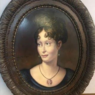 Anonimo- Ritratto di Maria Luigia di Parma