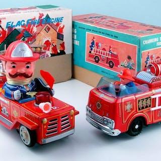 Masudaya-Modern Toys - Lot mit 2 vintage neue alte lager...
