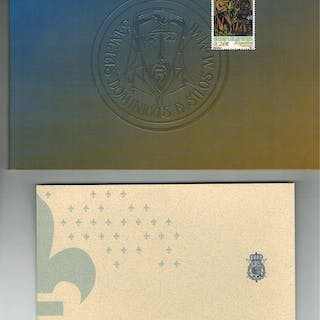 Spanien 2001/2004 - Special philatelic products: Silos...