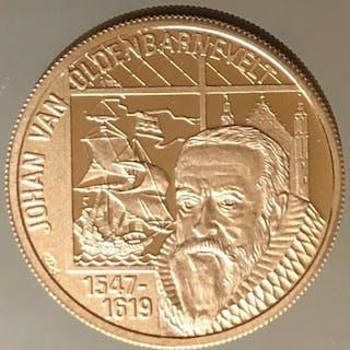 The Netherlands - 100 Euro 1997 'Johan van Oldenbarnevelt'- Gold