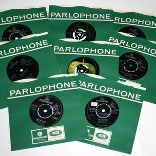 Beatles - Eight early singles