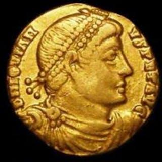 Roman Empire - AV solidus, Jovian (AD 363-364), Antioch - Gold
