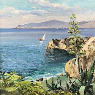 Michele Federico (1884 - 1966) - Capri
