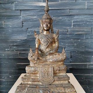 Statue (1) - Bronze, Gold - Thailand - Chulalongkorn: Rama V (1868-1910)