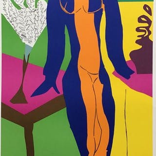 Henry Matisse- Zulma