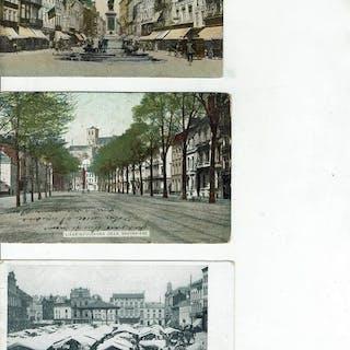 Belgien - BELGIEN 202 CP BEAU LOT VARIE - Postkarten (Sammlung von 202) - 1900