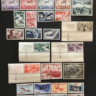 Frankreich - 1930/1999 airmail between 5 and 63 - Yvert