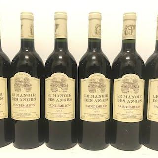 2002 Le Manoir des Anges - Bordeaux, Saint-Emilion - 6 Flaschen (0,75 l)