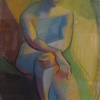 Nicolas Poliakoff ( 1899-1976)Ukraïne / Paris -Vrouwelijk...