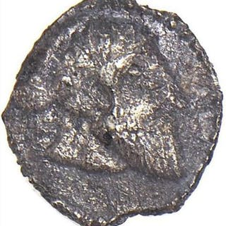 Greece (ancient) - Sicily, Tauromenion. AR Litra, early 4th century BC - Unicum