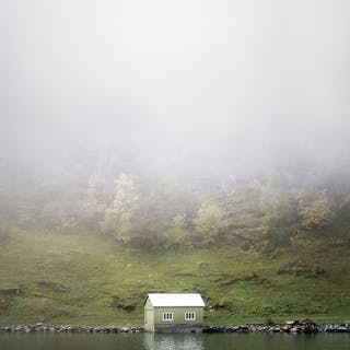 Gonçalo Duarte Pacheco - (2x) Sognefjord Boat House / Sognefjord Waterfall