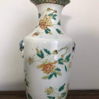 Vase - Porzellan - China - 19. Jahrhundert