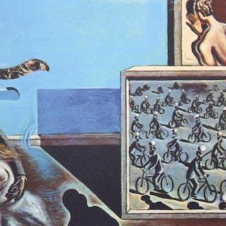Salvador Dalí (after) - Surrealistic composition