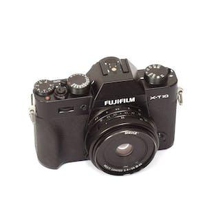 Fuji (FujiFilm) X-T10 + Meike 28mm/2.8 MF