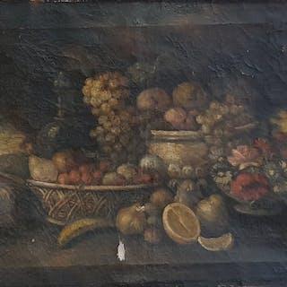 Scuola italiana, primi anni del XVIII secolo- Natura morta
