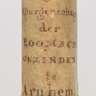 [Arnhem. Cattolicesimo romano. Cittadinanza] - Request, en Remonstrantie - 1784