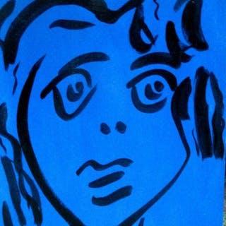 Peter Robert Keil - The Blue Lady II