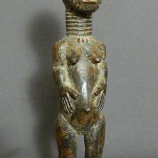 Fétiche (1) - Bois - Baoulé - Côte d'Ivoire