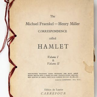 Henry Miller & Michael Fraenkel - The Michael Fraenkel...