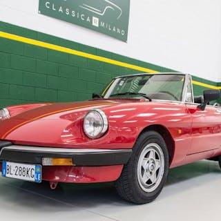 Alfa Romeo - Spider 2.0 ´Iscritto ASI´ - 1988