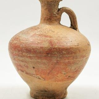 Römisches Reich Terrakotta Legionär Wine Flagon mit Griff