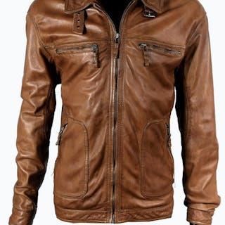 Pierre Cardin Paris - Pure Lambskin Leather Jacket - Size: IT 52Size XL