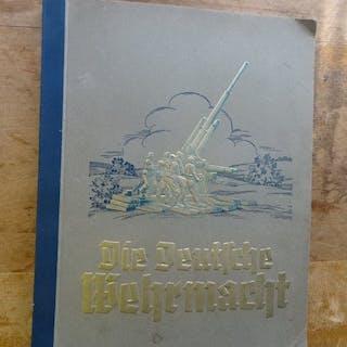 Deutschland - Die Deutsche Wehrmacht - Album, Sammelbilderalbum WK II - 1936