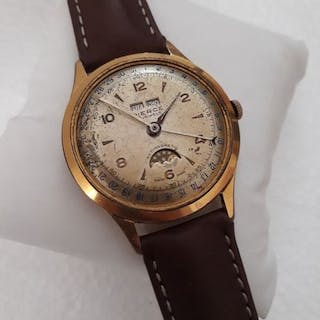 Pierce 1883 - Over size, Triple date, moon phase, Cal.103 - Herren - 1950-1959