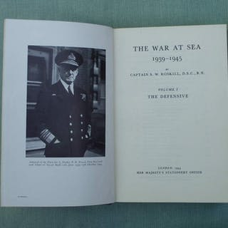 Captain S.W. Roskill, DSC, RN - The War at Sea 1939-1945 - 1960/1962