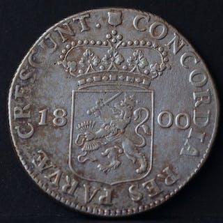 Niederlande - Utrecht - Zilveren Dukaat 1800 Bataafse Republiek