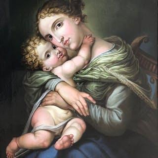 Desconocido - Virgen con niño