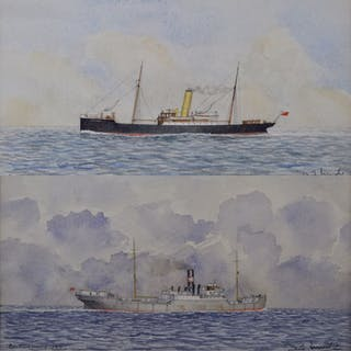 D. J. Mudie (20th century) - SS Pole Star of 1892 and SS British Holly of 1922