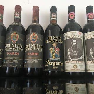 Gemischtes Los - 1976 ,1979,1981 Nardi,1978 Argiano Brunello di Montalcino