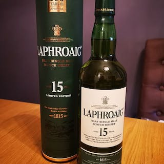 Laphroaig 15 years old 200th Anniversary - Official bottling - 0,7 l