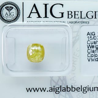 1 pcs Diamond - 1.40 ct - CUSHION CUT ROSE CUT VARIATION...