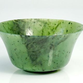 Bowl - Jade - China - 19th century