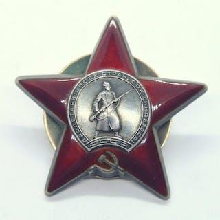 Russland - WW2 Orden des Roten Sterns # 2981 *** - Medallie