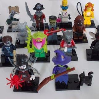 "LEGO - Minifigures - 16 figurines série 14 ""MONSTERS""..."