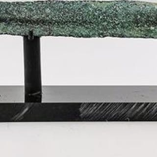 Altes Luristan Bronze Dagger/Schwert mit Griff auf Stand