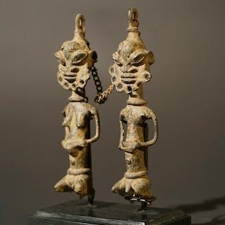 Sculpture - Bronze - Yoruba - Nigeria