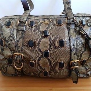 Prada - Handtasche Python Handbag
