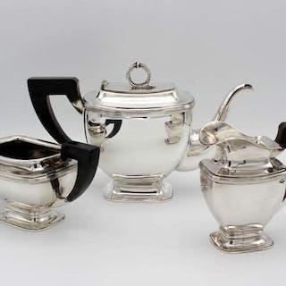 Servicio de té - .835 plata - Países Bajos - Segunda mitad del siglo XX