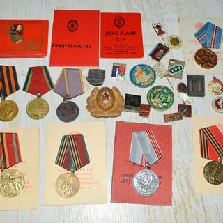 Russland - Sammlung russischer Medaillen