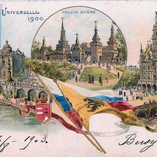 FRANKREICH Ohne große Städte - Postkarten (Set von 251) - 1904-1939