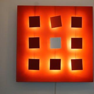 Catherine Grandidier - Dix heures dix - Lampada da parete (1) - Métalo