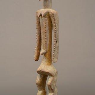 Skulptur - Holz - Bassague - Nigeria
