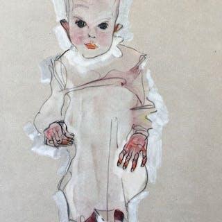 Egon Schiele (1890 - 1918) - Baby - 1910